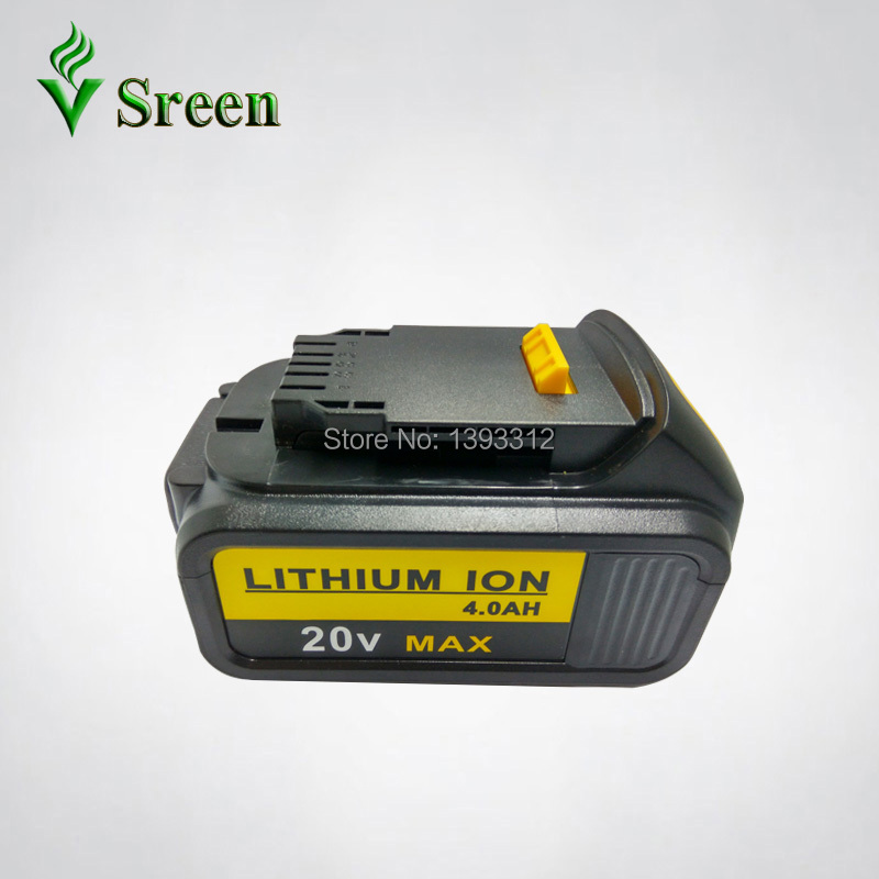4000mAh 18V Lithium Ion Power Tool Rechargeable Battery Replacement for DEWALT DCB181 DCB180 DCB182 DCB200 DCB201 DCB203 DCB204 melasta 20v 4000mah lithiun ion battery charger for dewalt dcb200 dcb204 2 dcb180 dcb181 dcb182 dcb203 dcb201 dcb201 2 dcd740