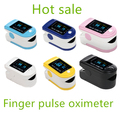 5 Colors FDA fingertip Pulse oximeter Pulse monitor + case spo2 FREE shipping