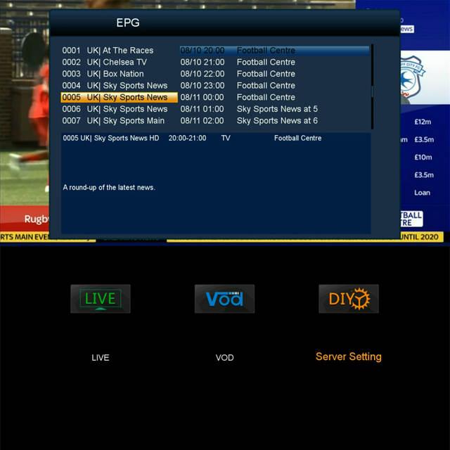 US $89 0 |receptor M258 support cccam server iptv m3u HEVC H 265 1080P Set  Top Box iBRAVEBOX M258 usb wifi support Satellite tv receiver-in Satellite