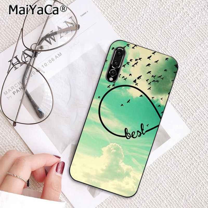 MaiYaCa أفضل صديق صديقة صديقها الهاتف حافظة لهاتف huawei P20Lite P30Pro P الذكية Y5 Y6 Honor8A 8C 10i Nova3 Mate20Lite