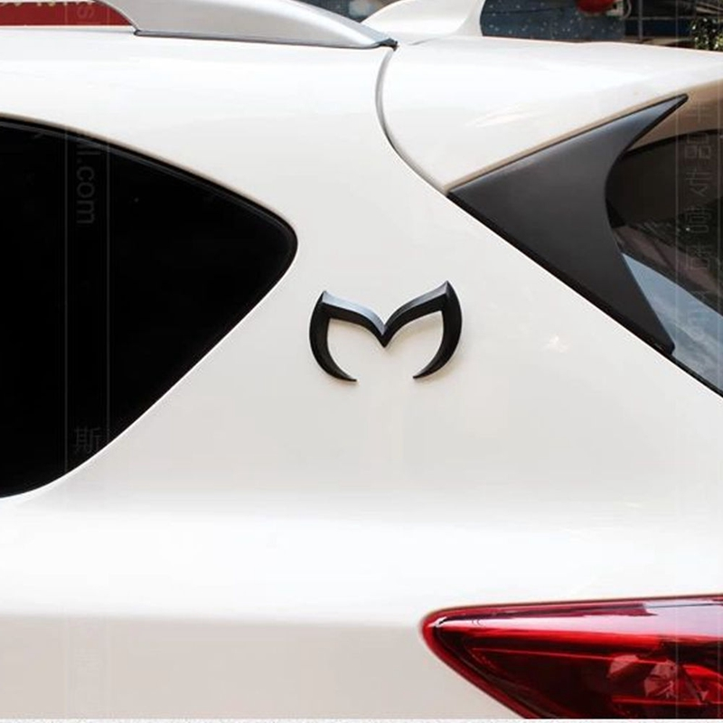 Universal Auto Emblem 3D Metal Sticker Logo Bat Batman For Mazda 3 6 Mazda CX-5 CX-6 Axela Atenza Accessories