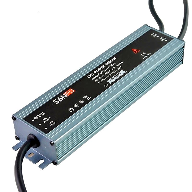 110V 220V to 12V 24V Switch Power Supply 60W-300W IP67 Waterproof AC DC Adapter LED Driver For SMD 2835 3528 5050 5630 LED Strip new ac to dc 12v 25a 300w switch power supply driver adapter for led strip