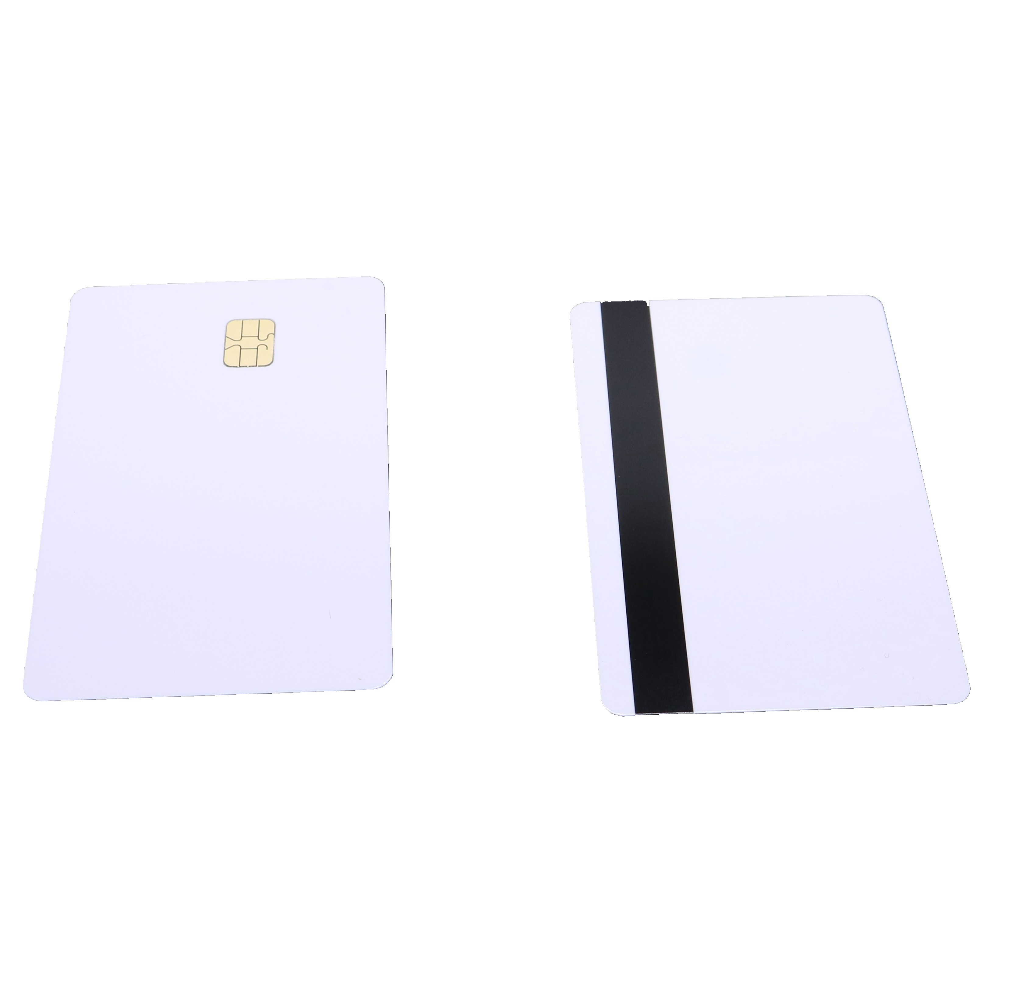 SLE4442 Chip 8mm 3track Hi CO Magnetic Stripe Contact IC Composite Card(China)