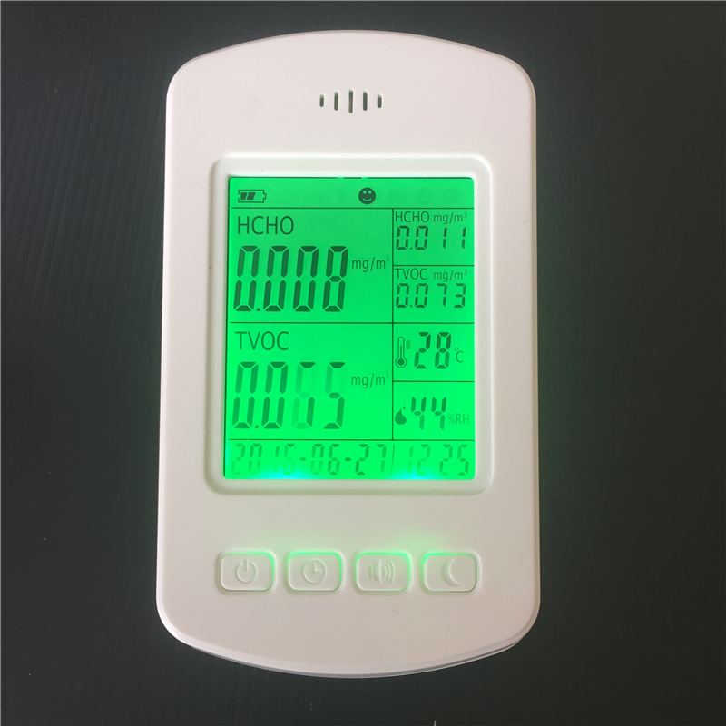 Mini Dust Particle PM2.5 indoor air quality monitor PM2.5 detector digital indoor air quality carbon dioxide meter temperature rh humidity twa stel display 99 points made in taiwan co2 monitor