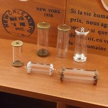 1 Набор полая стеклянная трубка с установочной основой Стеклянные
