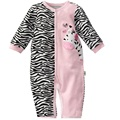 Zebra Macacão de Bebê Meninas roupas ternos Do Corpo Do Bebê One-piece Romper QUALIDADE SUPERIOR roupa bebes recém-nascidos bebe macacão infantil meses