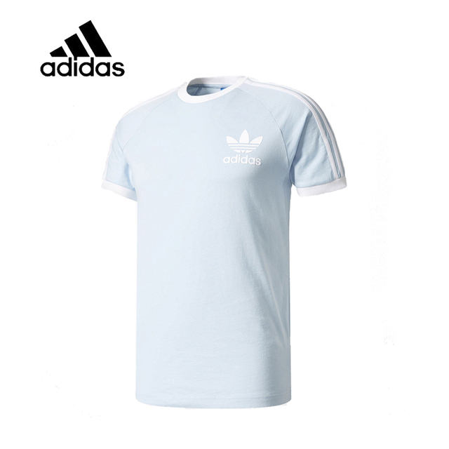 Men's In Original Breathable Sleeve Men Authentic T Blue Dry Shirt Leisure For Quick Trainningamp; Short Arrival Sportswear New Male Adidas Yby7g6f