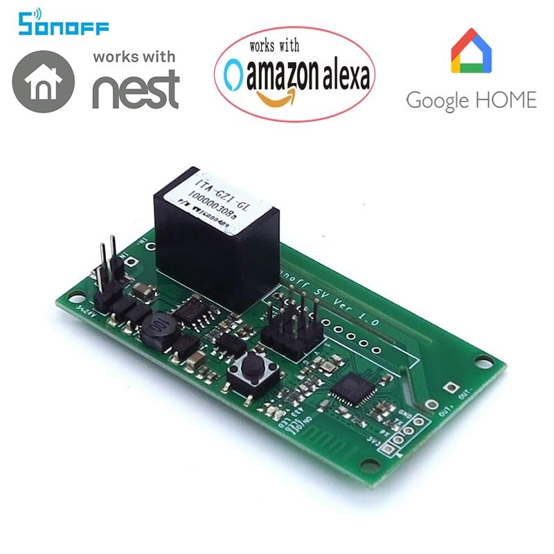 Sonoff SV Säker spänning WiFi Trådlös Till / Från Slå Smart - Smart electronics