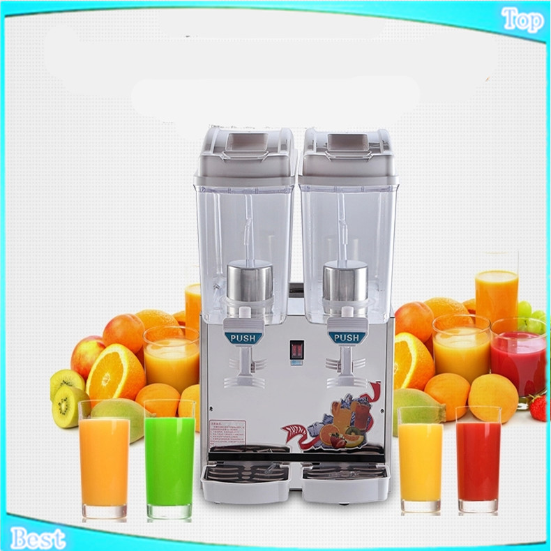 free shippingDouble cylinder juice machine,spray Cold and hot blender machine,fruit and vegetable juice extractor,slush machine slush machine parts