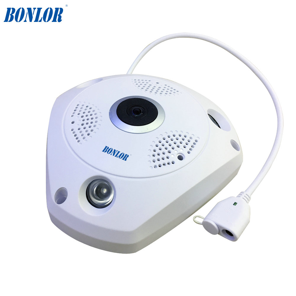 BONLOR <font><b>HD</b></font> Wi-fi Mini IP Kamera 360 Grad Home Security Drahtlose P2P Wifi IP CCTV Kamera 1.3MP 960PH Video Überwachung kameras image