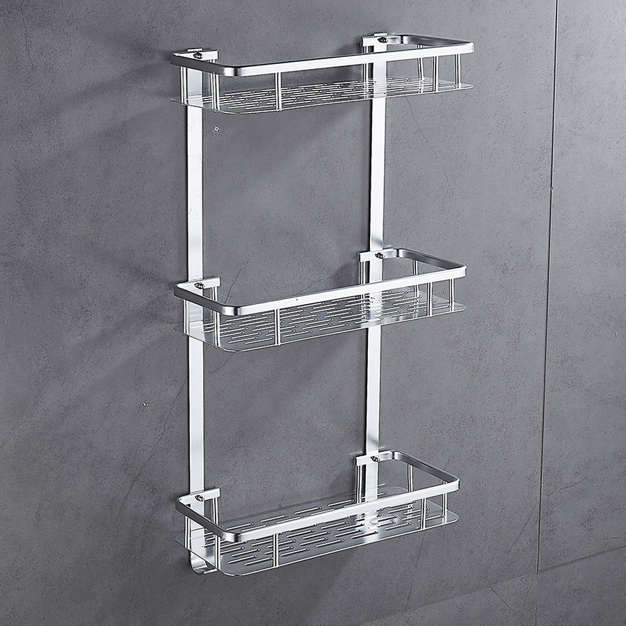 Chunlu 3 Layers Bathroom Shelf Storage Holder Shower Soap Tray Rack Wall Mounted Box Container Bzwj03 In Holders Racks From Home