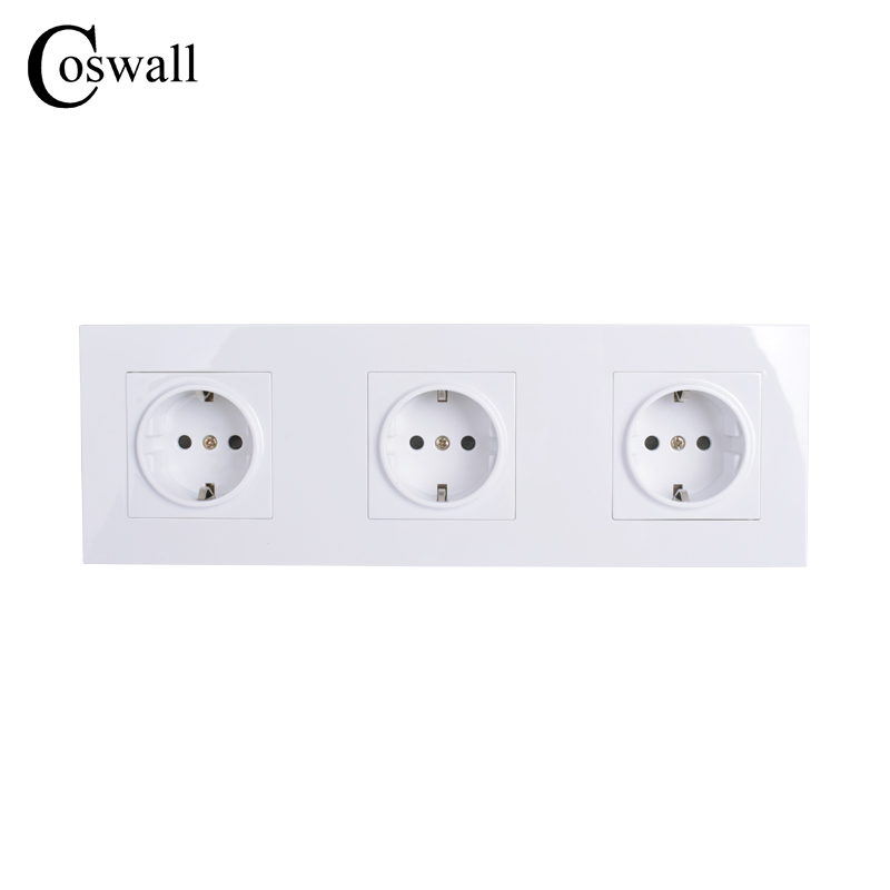 coswall-high-quality-wall-power-3-way-socket-plug-grounded-16a-eu-standard-electrical-triple-outlet-258mm-86-mm