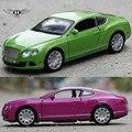 Bentley GTW12 1:32 Сплава Автомобиля Металла Diecast Моделирование Модель Автомобиля 4 Цвет Мини-Автомобили Игрушки для Colletion