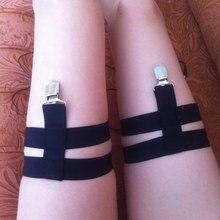 Gothic Leggings Leggings Lingerie Legs Harness