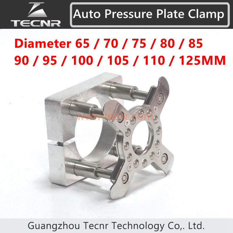 Auto Pressure Plate Clamp 62mm 65mm 70mm 75mm 80mm 85mm 90mm 95mm 100mm 105mm 110mm 125mm for cnc engraving machine engraving machine automatic platen clamp cnc plate clamp for spindle motor 65mm 80mm 85mm 90mm 100mm 105mm 125mm
