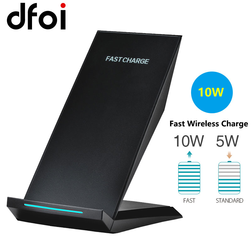 dfoi s9 qi fast wireless charge 2 coils usb universal. Black Bedroom Furniture Sets. Home Design Ideas