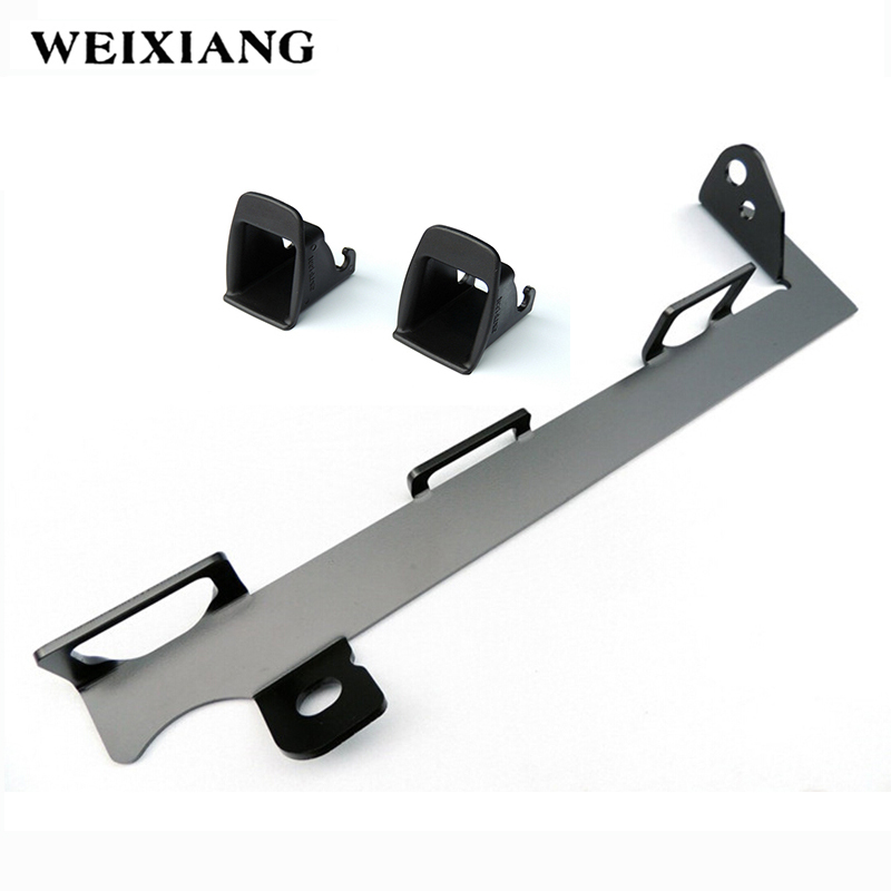 For Peugeot 307 Car Seat ISOFIX LATCH Belt Interfaces Guide Bracket For Car Baby Child Safety Seat