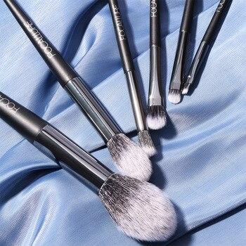 FOCALLURE 10 Pcs/Set Professional Makeup Brushes Kit with Eyeshadow Powder Brush Cosmetic Beautiful Make Up Brush Tools 5