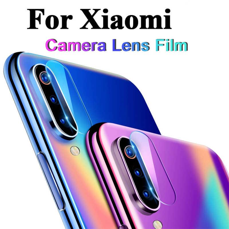 Película da câmera para xiaomi mi a2 lite a1, película protetora transparente para xiaomi mi 9 8 se mi lente traseira do telefone 8 pro vidro temperado