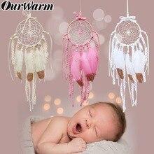 OurWarm Wedding Gift Mini Dream Catchers Boho Party Favor Car Hanging Decoration New Year Baby Shower Birthday