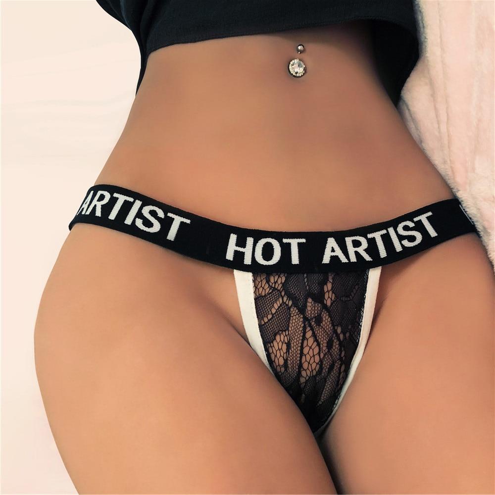 Sexy Thongs G String Underwear Women Thong Culotte Femme -5592