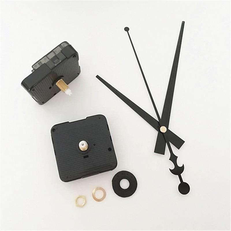 Wholesale 100PCS 18 5MM Shaft Clock Silent Wall Quartz Clock Repair Tool with Gold Metal Clock