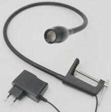 110V/220V 3W High Level Led Bedside Lamps With Clips