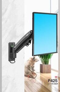 Image 5 - 2018 New NB F425 Aluminum Full Motion 27 45 inch TV Wall Mount Bracket Gas Spring Arm Load 3 13kgs Max.VESA 200x200mm