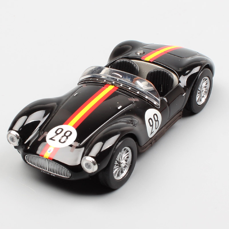 1:43 Scale mini A6 GCS 53 24h Le Mans 1954 No.28 De Portago Tomasi race cars vintage vehicle diecast models gift Toys for adult