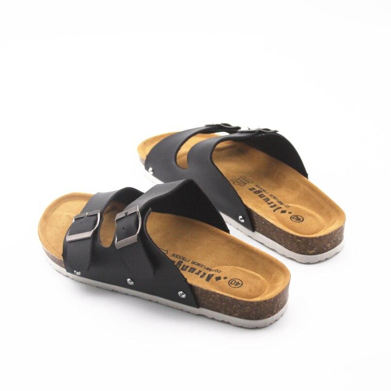 bb Mujer De Confortable cc A Pu Zapatillas Pantoufles d Mode Cresfimix Sur Femmes Cuir Slip c Dame Maisonamp; A806 e Mignon Blanc b Plage aa En j5AL3R4q