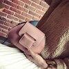 Women Gold Ingot Shape Bag Small Cute Shoulder Bags New Creative Girl Crossbag Chain PU Leather
