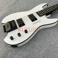 Steinberg electric guitar headless white Bass Guitar, white black accessories Bass Guitar. Beautifully crafted Bass Guitar.