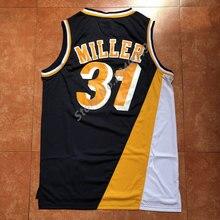 La MaxPa Mens 31 Reggie Miller Throwback Basketball Jersey US Size S-XXL  Stitched 022f34555