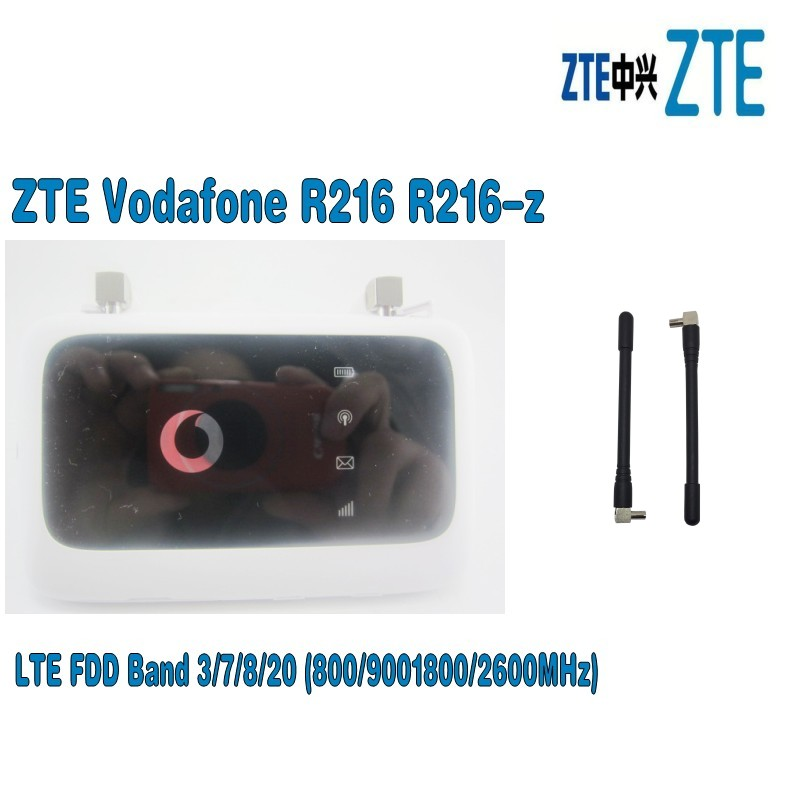 Lot of 100pcs Vodafone Mobile WiFi R216z LTE Hotspot plus 2pcs 4g antenna