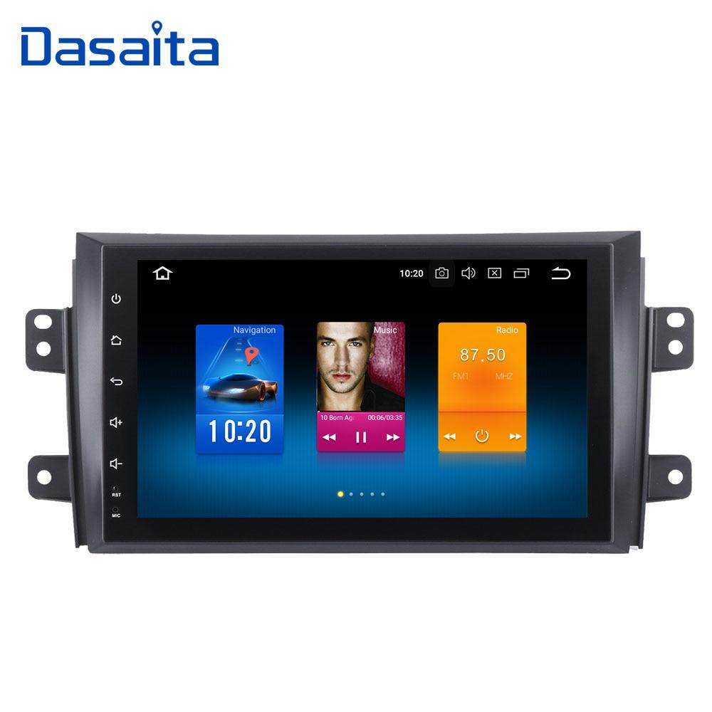 Dasaita 9 Android 8.0 Voiture GPS Radio Lecteur pour Suzuki SX4 2006-2011 avec Octa Core 4 gb + 32 gb Auto Stéréo Multimédia