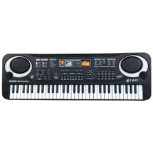 61 клавиша Цифровая музыка электронная клавиатура доска игрушка подарок Электрический пианино орган для детей многофункциональный и нежный