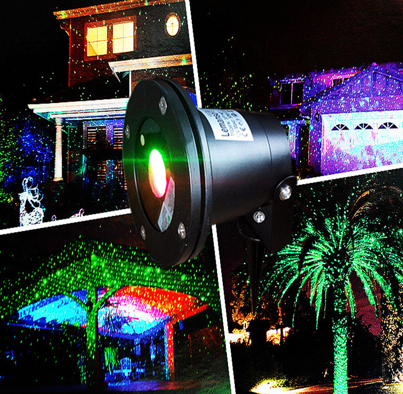 Outdoor Waterproof Effect Laser Projector/ Landscape Laser Light For Christmas Trees ,Lawn,Garden ,Park