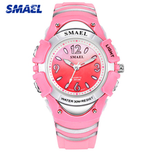Top Brand SMAEL Fashion Children Watch Shock Resistant Sport Boy Girl W