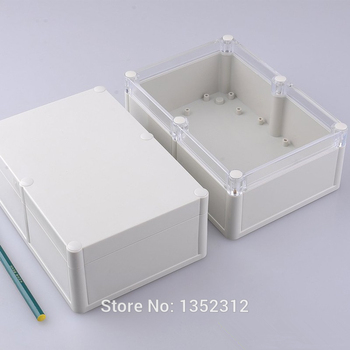 8 pcs/lot 185*129*70mm housing DIY project box plastic waterproof enclosure for electronic ip68 PLC outside junction switch box