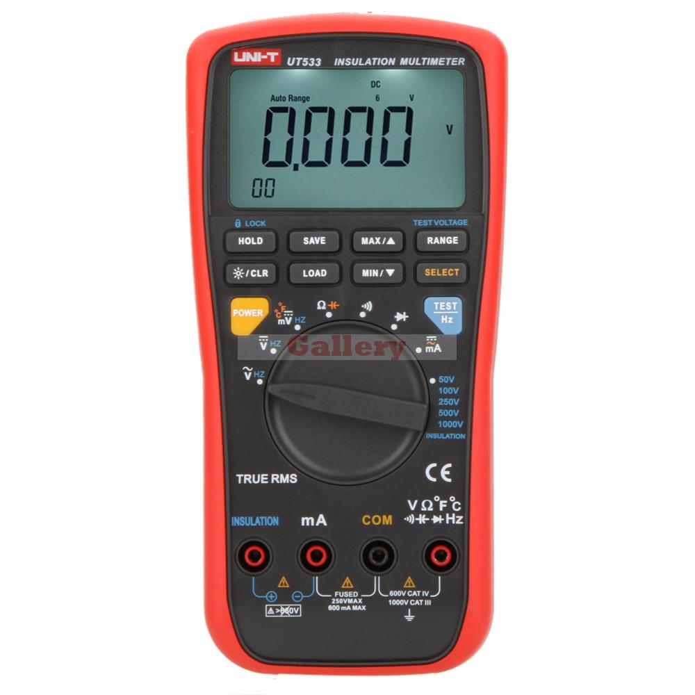 True Rms Meter : Uni t ut true rms auto range v insulation
