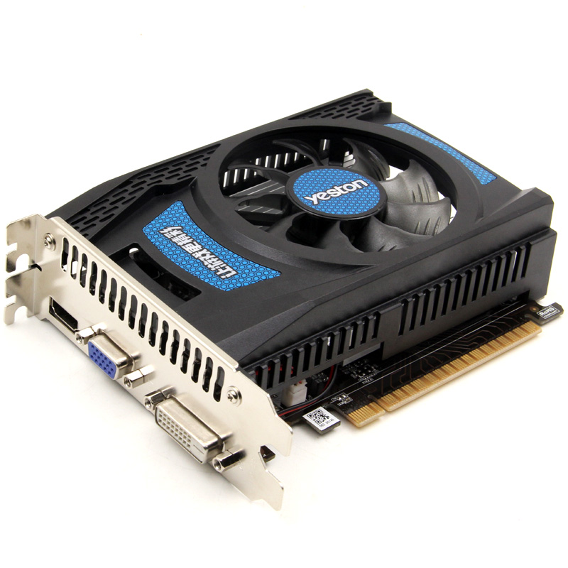 Yeston Speed Edition NVIDIA GT730 1G DDR3 graphic card GT730 1GD3 desktop video card 2 years warranty yeston nvidia geforce gt 730 gpu 2gb