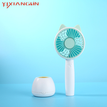 YIXIANGLIN brand EFA07-04 Mini Handheld Fan Cooler USB Charging Desk Rechargeable ABS Portable For sale