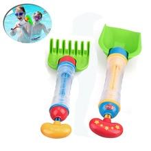 ABS Beach Toy Shovels Kids Multi-function Water Jet Play Sand Shovel Snow Tools Summer Seaside Dig Sand Shovel Soil Water Toys