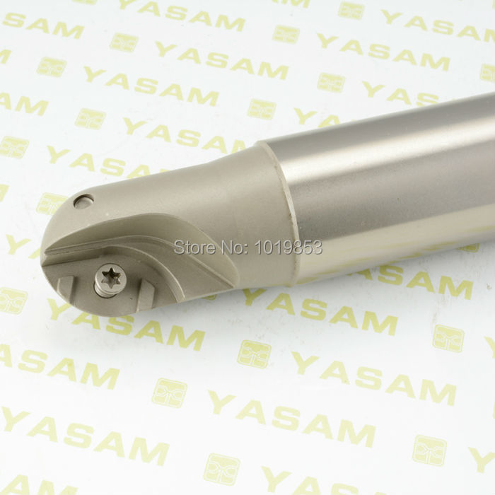 BCF 12.5R-C32-200L ball nose milling cutter arbor copy milling cutter for finish machining ZCET\W carbide inserts bisley bcf 64 b64