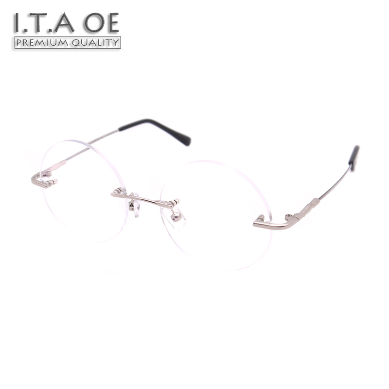 ITAOE Model Jobs 1 Quality Ultralight Memory Alloy Men Optical Prescription Glasses Eyewear Frames Spectacles 126mm itaoe model 404 high quality acetate men optical prescription glasses eyewear frames spectacles 141mm
