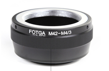 Lens Adapter Ring M42-M4/3 M42 and Micro 4/3 M4/3 Mount Camera Accessories for Olympus Panasonic DSLR Cameras