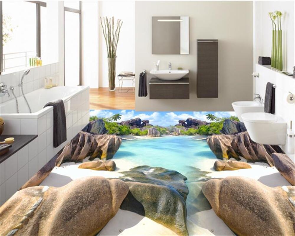 beibehang adecuado para pintura de interiores casa playa wallpaper papel de parede impermeable d pintura