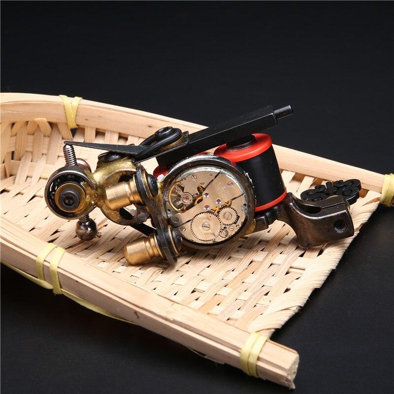 Original Handmade 10 Wrap Coil Shader Tattoo Machine Gun For Tattoo Power Kit Set Supply(China)