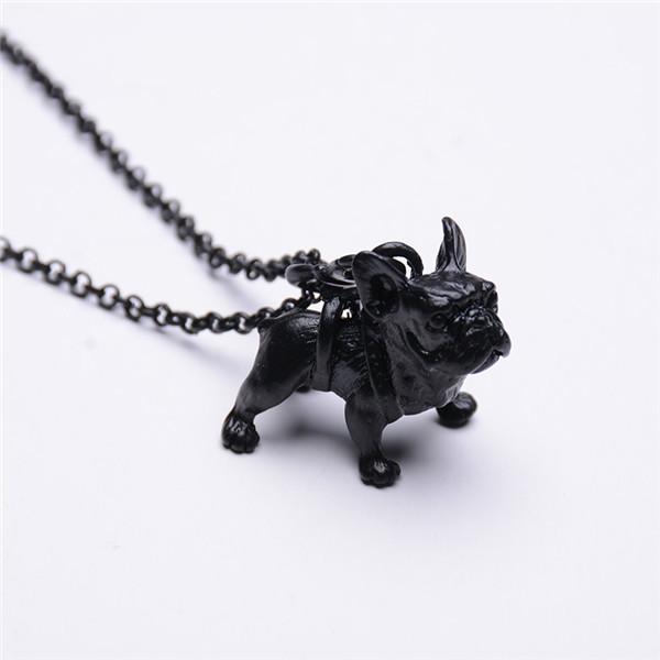 French Bulldog Pendant Necklace
