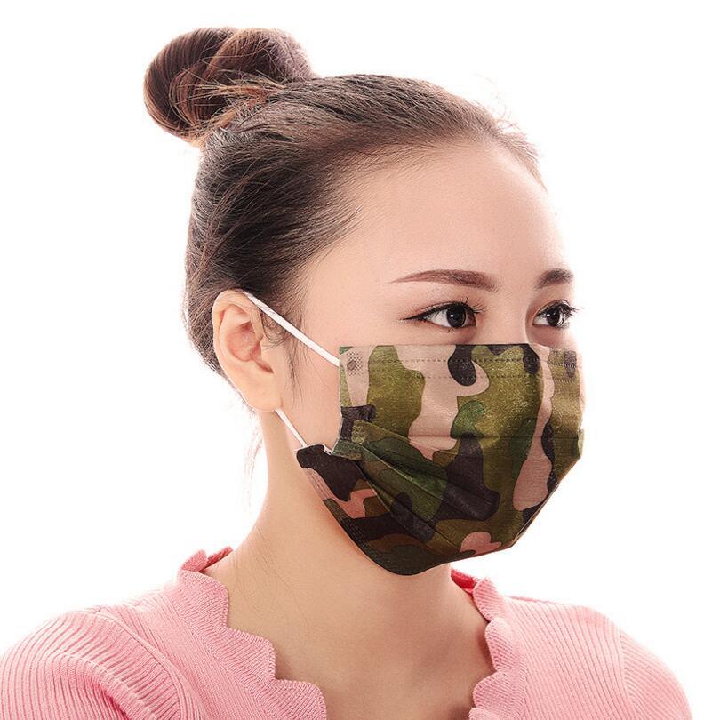 10pcs Men Women disposable mouth mask Adaults Anti Haze Mask anti-dust mouth mask Windproof Mouth-muffle Flu Face mask